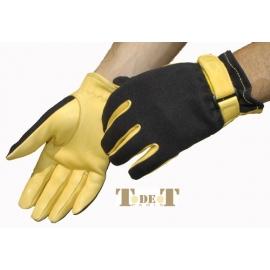 Spandex/leder Handschuhe